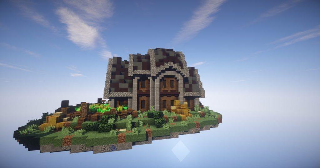 остров скайблок